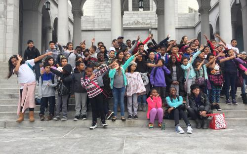 116th Street School Visits City Hall