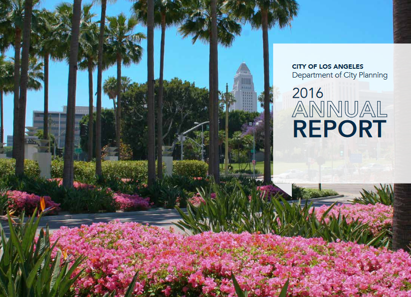 City Planning Issues Annual Report