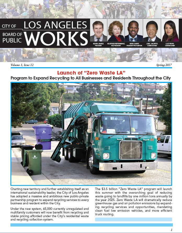 Latest News from Public Works