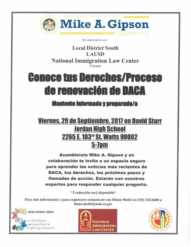 DACA Renewal Workshop