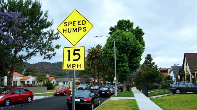 Apply For LA's Speed Hump Program