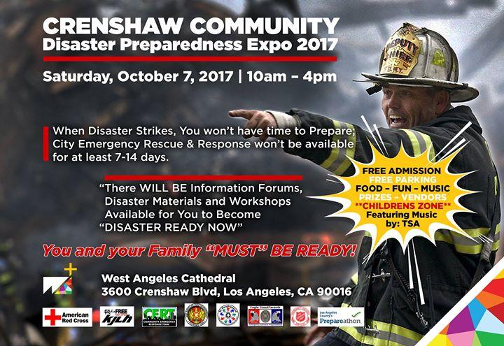 Chrenshaw Community Disaster Preparedness Expo 2017