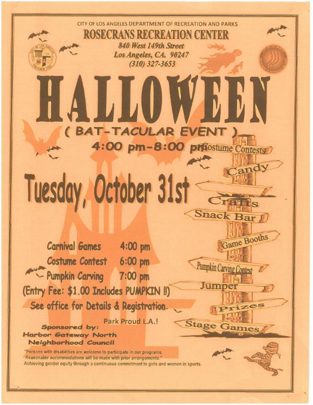 Halloween Bat-tacular Event