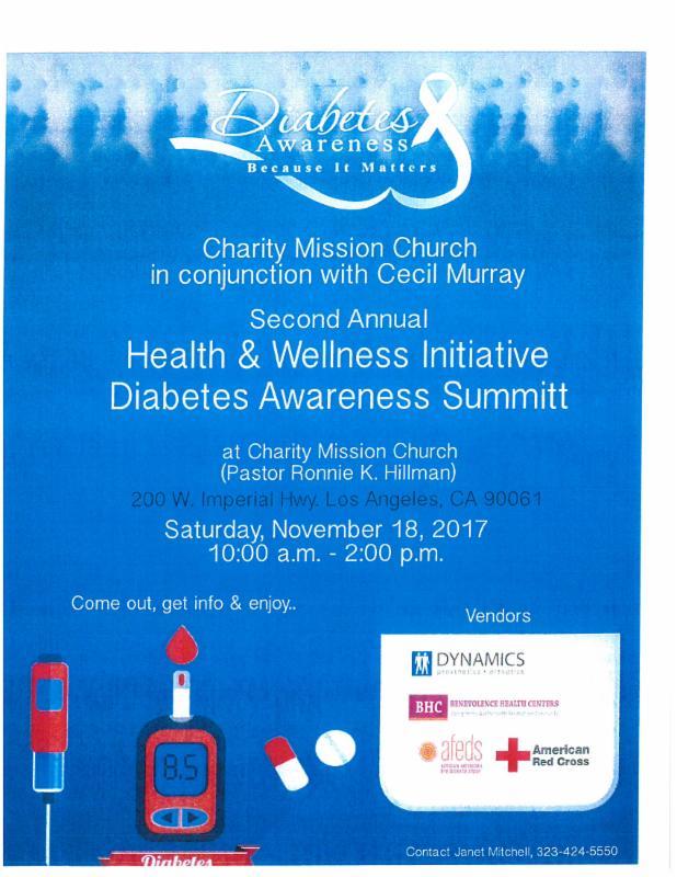 Diabetes Awareness Summit