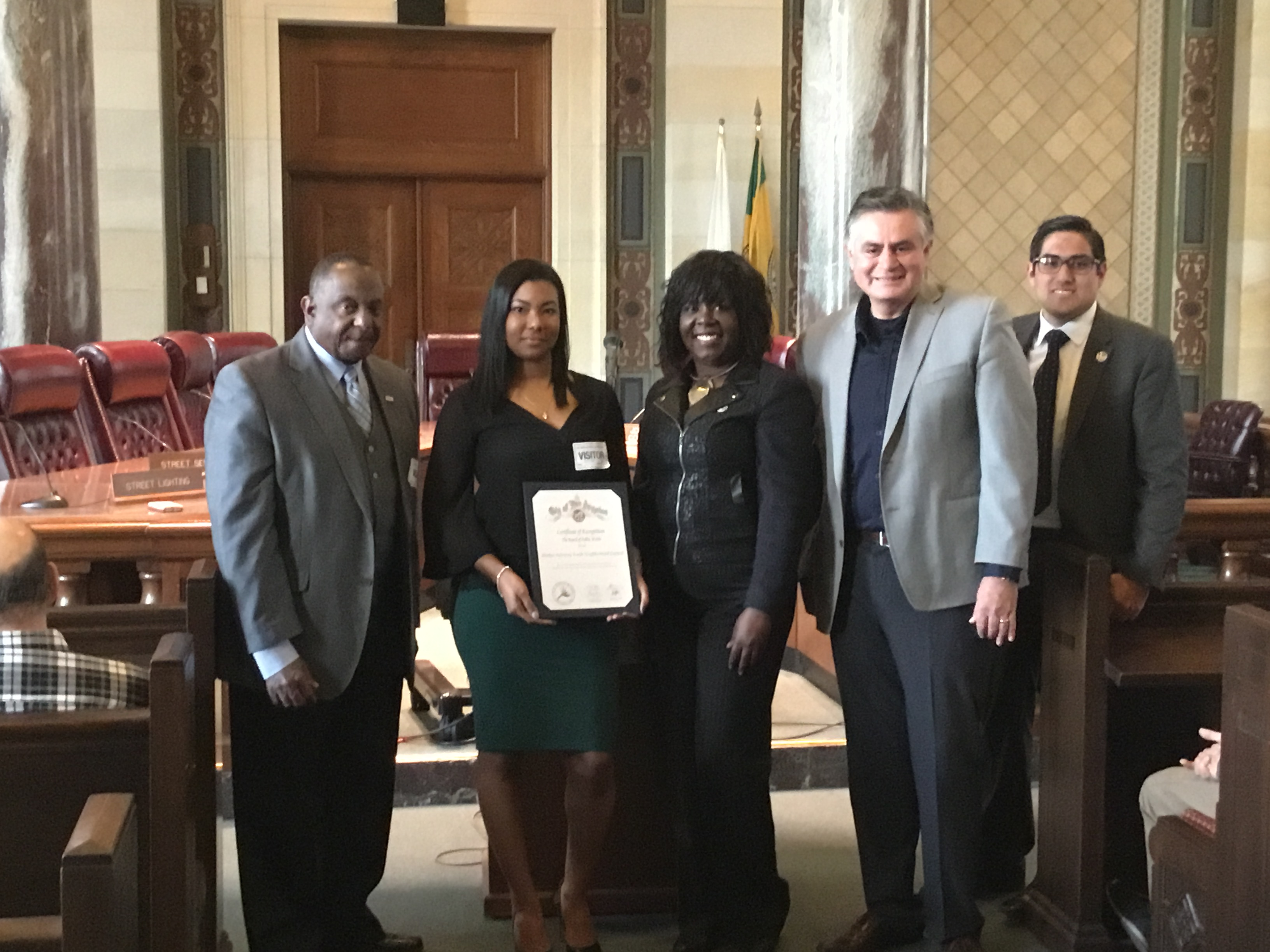 HGNNC receives clean streets award