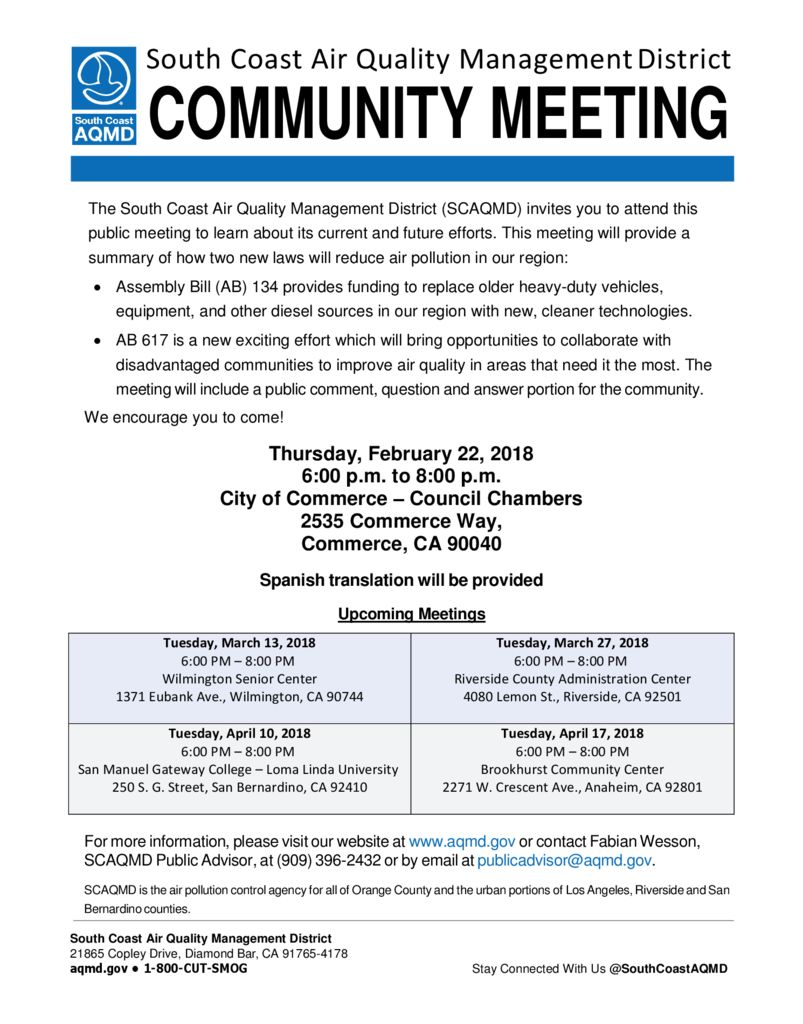 thumbnail of Commerce Community Meeting Flyer (2.22.18) – FINAL (Eng_Span)
