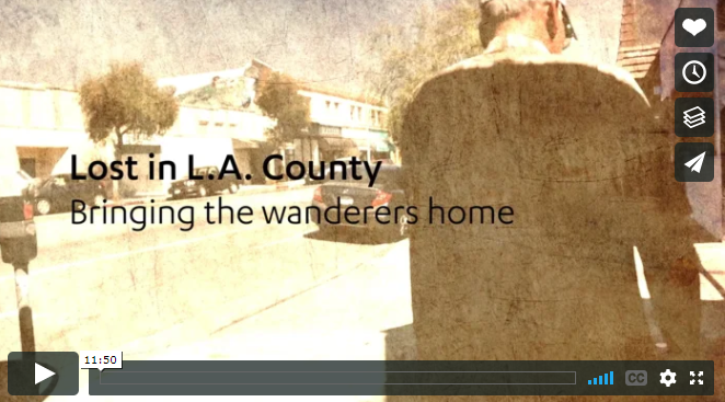 Lost in LA County, bringing the wanderers home video screenshot