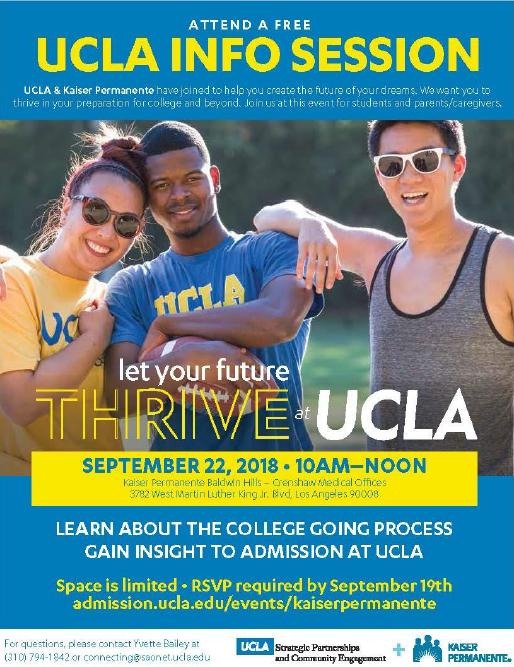 UCLA info session