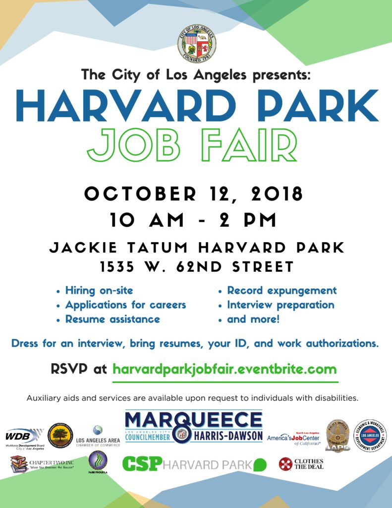 thumbnail of Job Fair Flyer 2018