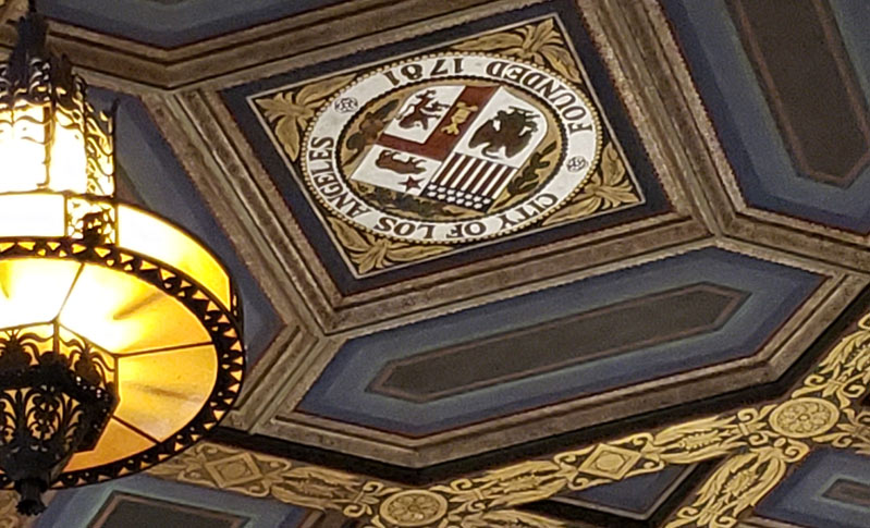 Ceiling at City Hall