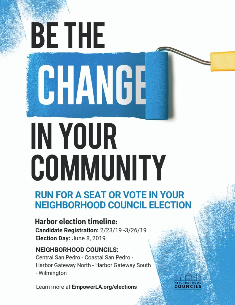 thumbnail of Harbor area Elections flyer