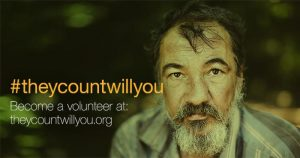 #theycountwillyou Volunteer