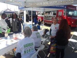 HGNNC Table at One Community Fair