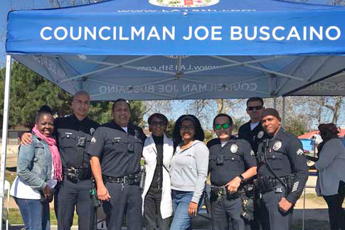 LAPD at One Community Fair