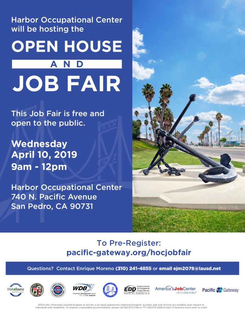 thumbnail of HOC Job Fair April 10th 2019
