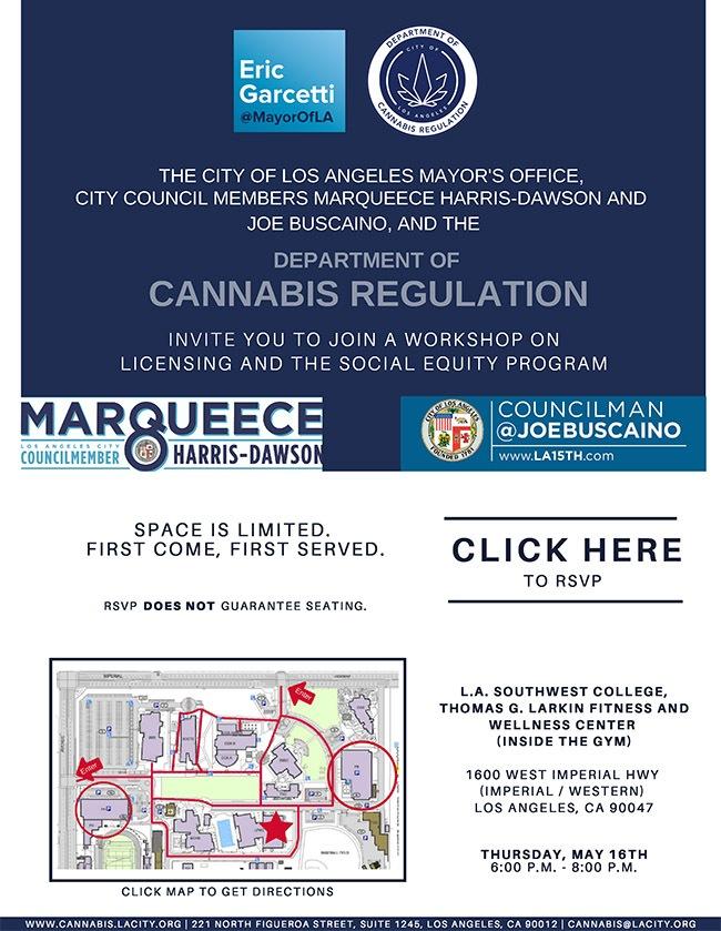 Cannabis regulation workshop