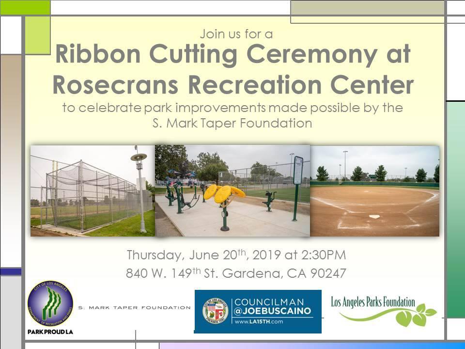 Rosecrans Recreation Center Ribbon Cutting