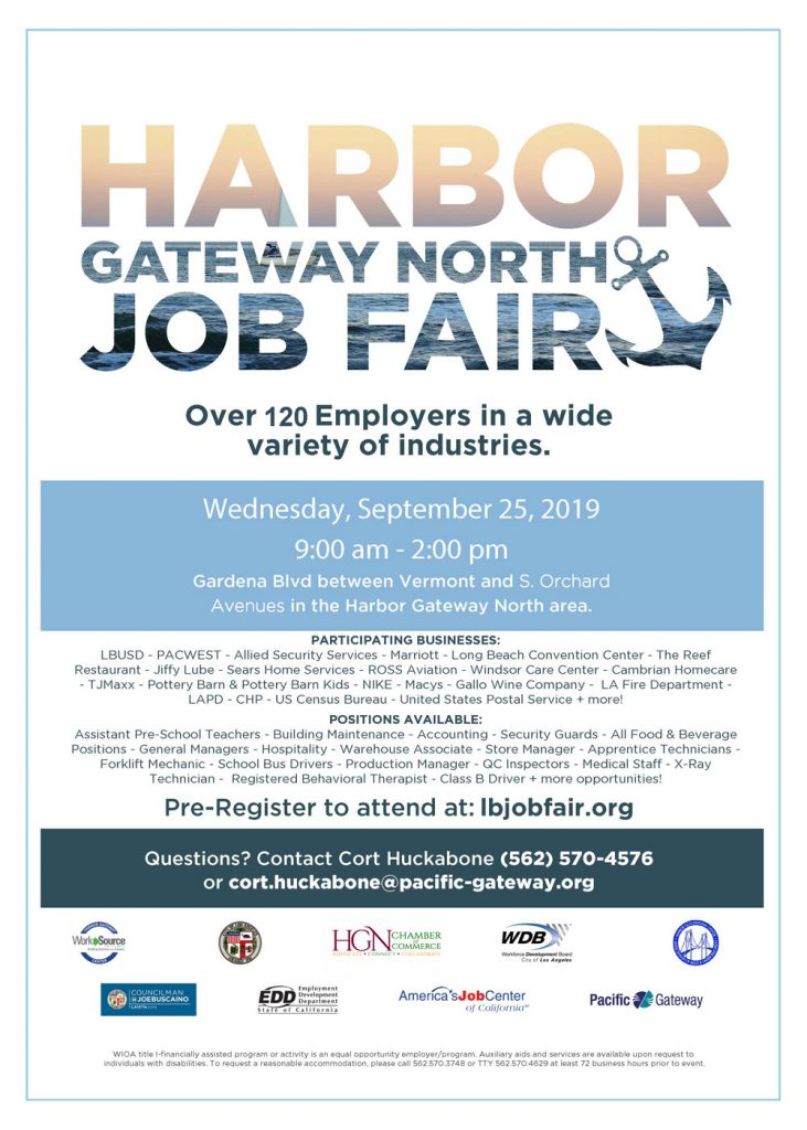Harbor Gateway North Job Fair