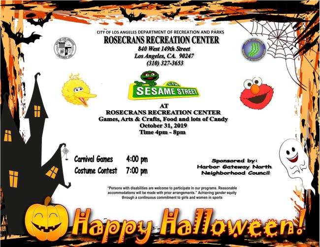 Halloween at Rosecrans Recreation Center