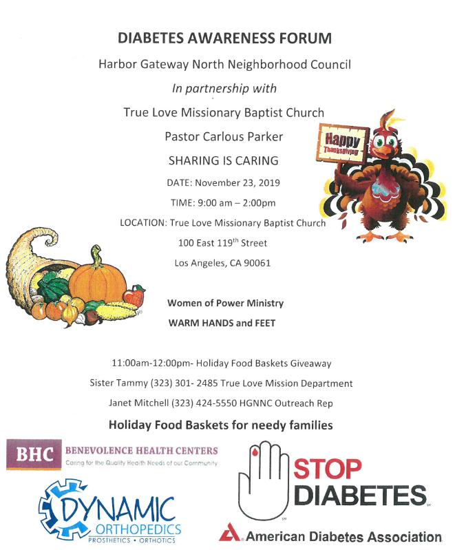 Diabetes Awareness Forum
