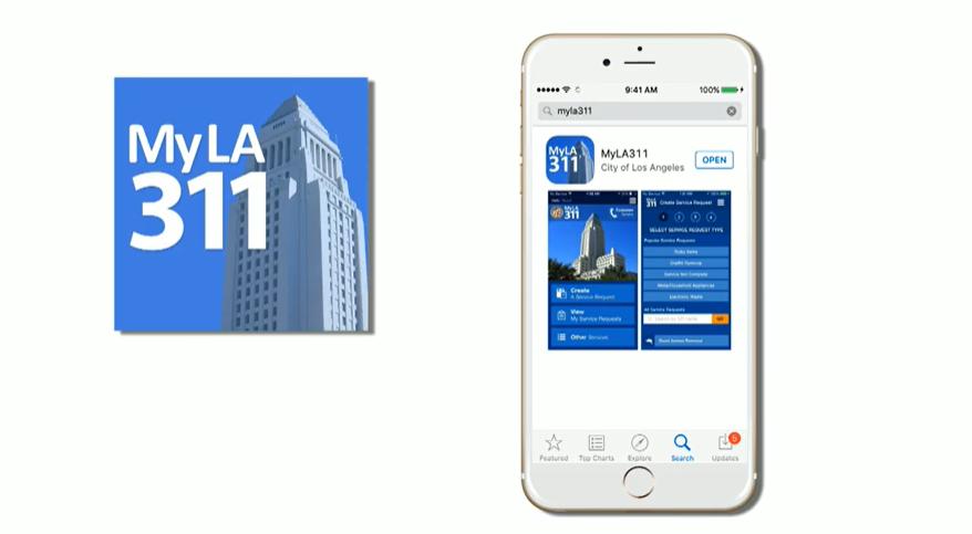 MyLA 311 App