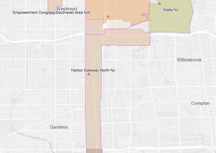 HGNNC Boundary Map