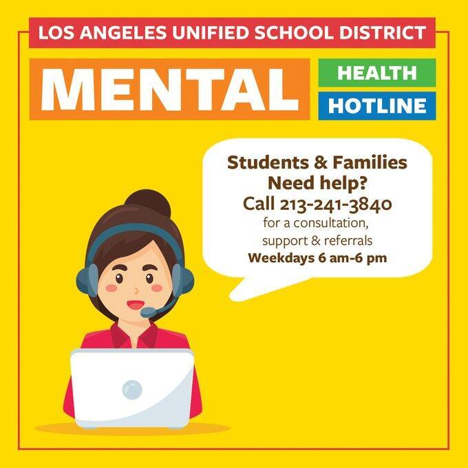 LAUSD Mental Health