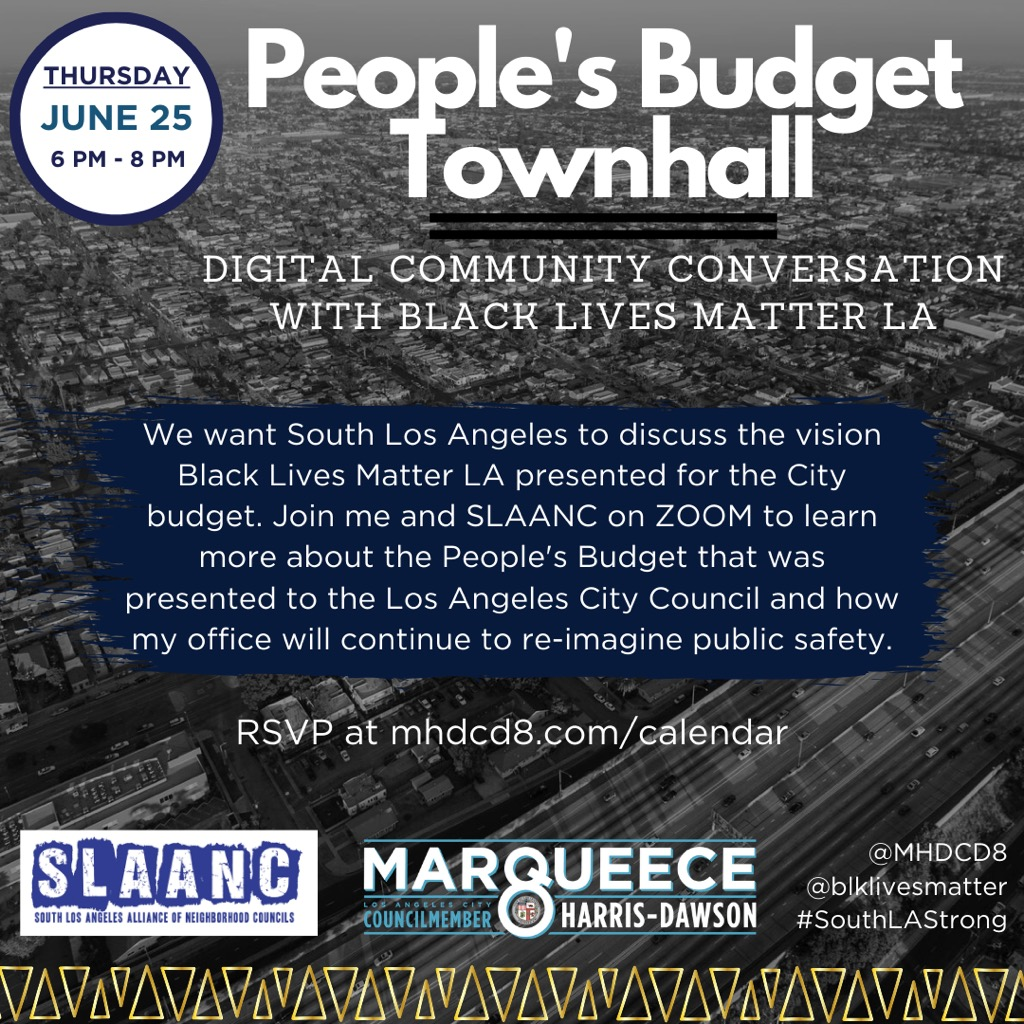 People's Budget Town Hall
