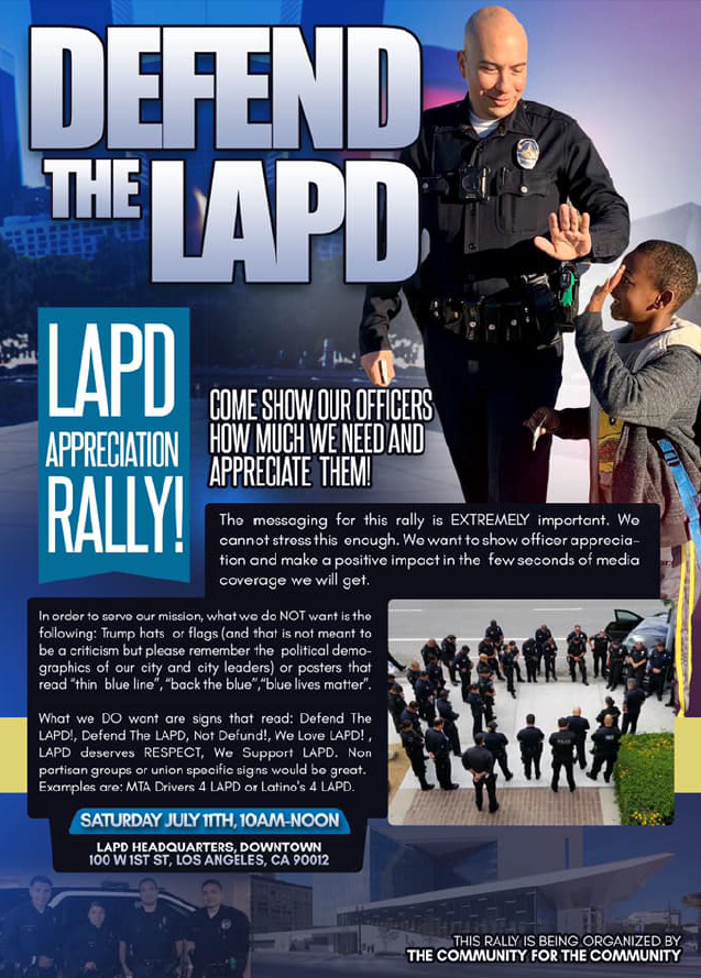 LAPD Rally