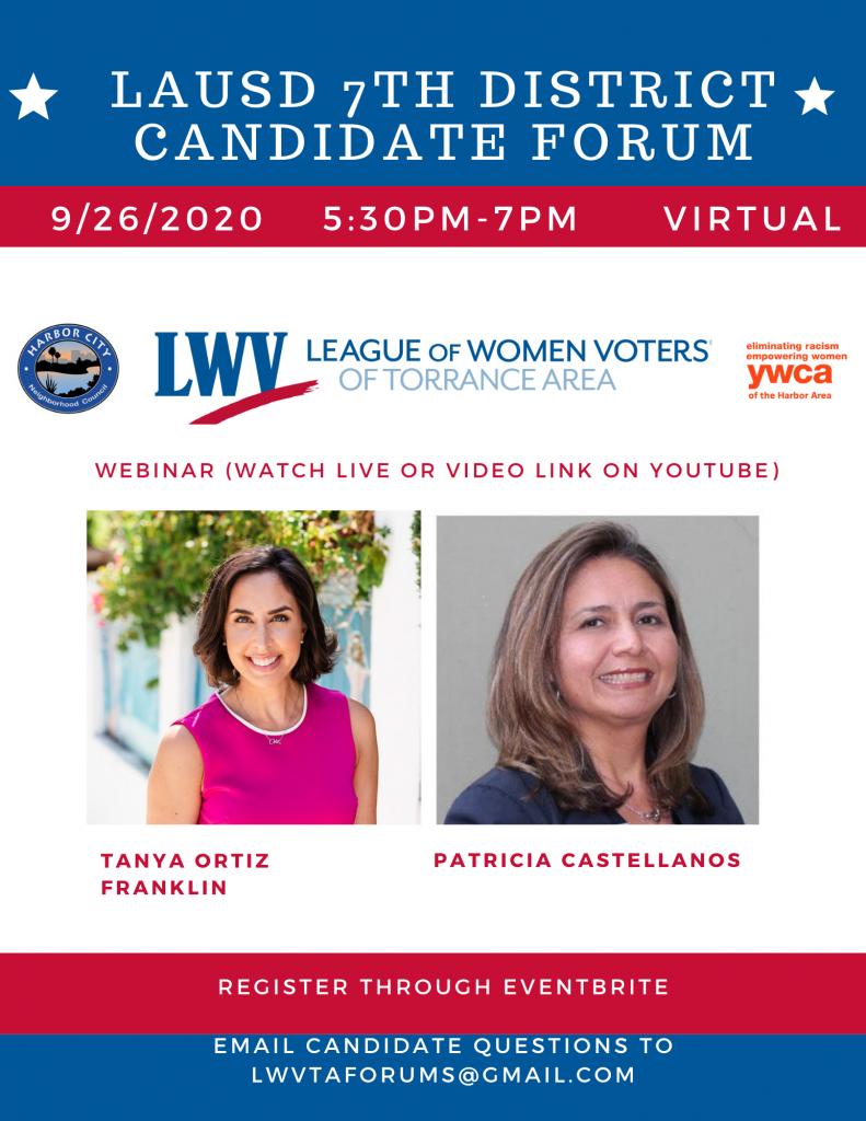 LAUSD 7th District Candidate Forum