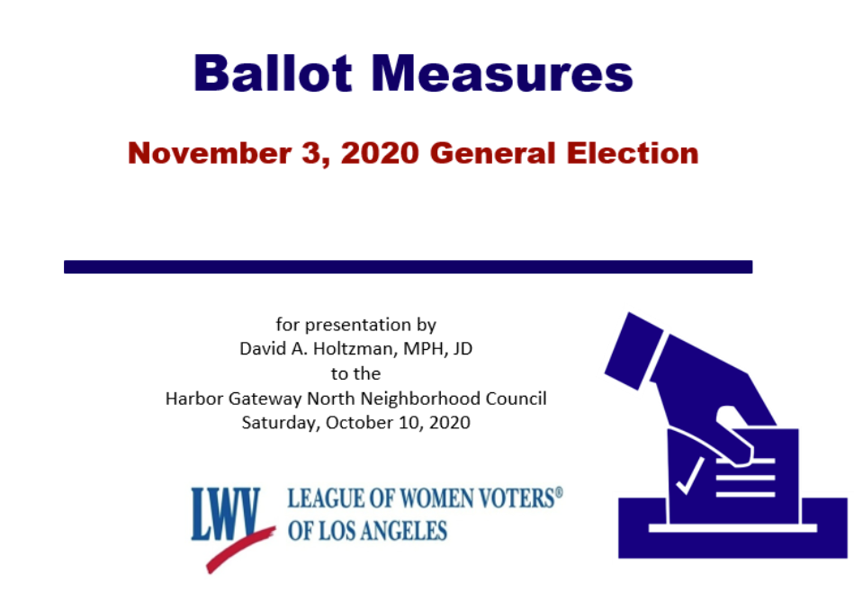 Ballot measures presentation screen shot