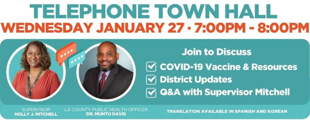 Town Hall Announcement