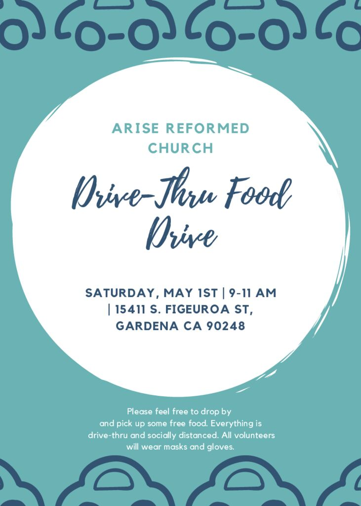thumbnail of Food Drive Flyer