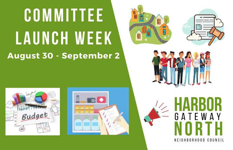 Committee Launch Week