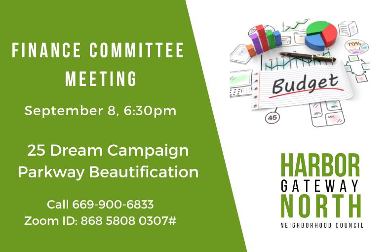 Harbor Budget September